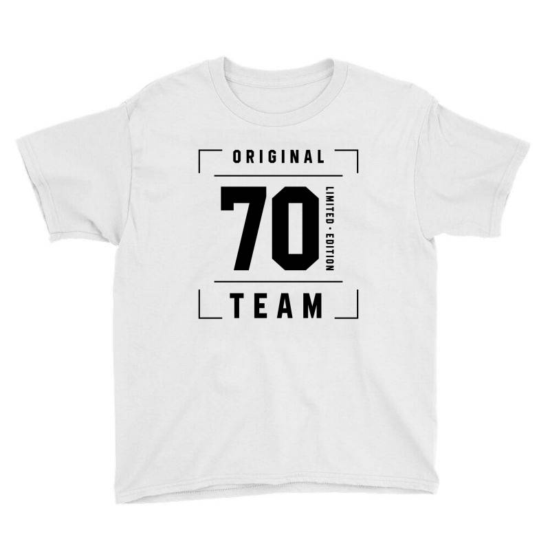 70 Year Old - 70th Birthday Funny Gift Youth Tee | Artistshot