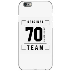 70 Year Old - 70th Birthday Funny Gift iPhone 6/6s Case | Artistshot