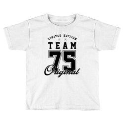 75 Year Old - 75th Birthday Funny Gift Toddler T-shirt   Artistshot