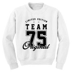 75 Year Old - 75th Birthday Funny Gift Youth Sweatshirt   Artistshot
