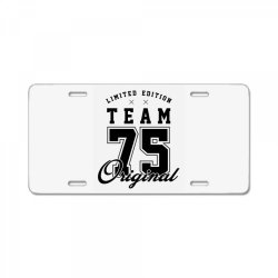 75 Year Old - 75th Birthday Funny Gift License Plate | Artistshot
