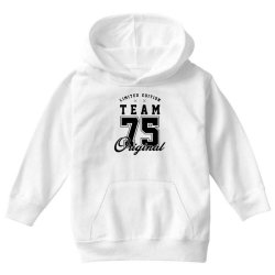 75 Year Old - 75th Birthday Funny Gift Youth Hoodie   Artistshot