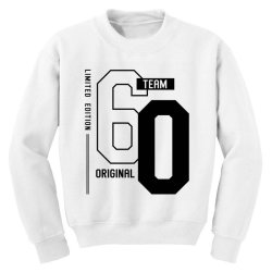 60 Year Old - 60th Birthday Funny Gift Youth Sweatshirt | Artistshot