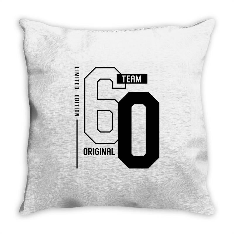 60 Year Old - 60th Birthday Funny Gift Throw Pillow | Artistshot