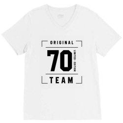 70 Year Old - 70th Birthday Funny Gift V-Neck Tee | Artistshot