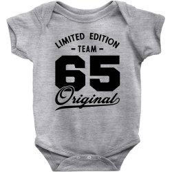65 Year Old - 65th Birthday Funny Gift Baby Bodysuit | Artistshot