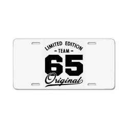65 Year Old - 65th Birthday Funny Gift License Plate | Artistshot
