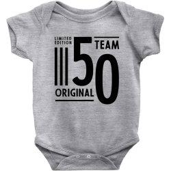 50 Year Old - 50th Birthday Funny Gift Baby Bodysuit   Artistshot