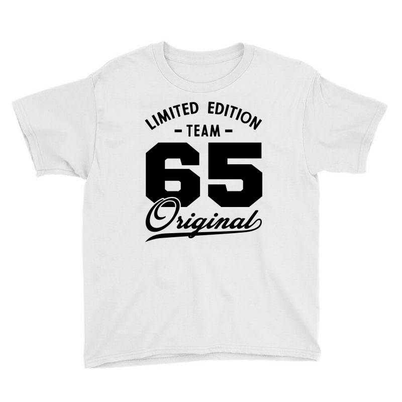 65 Year Old - 65th Birthday Funny Gift Youth Tee | Artistshot