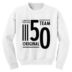 50 Year Old - 50th Birthday Funny Gift Youth Sweatshirt   Artistshot