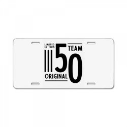 50 Year Old - 50th Birthday Funny Gift License Plate | Artistshot