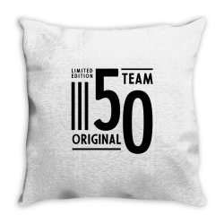50 Year Old - 50th Birthday Funny Gift Throw Pillow | Artistshot