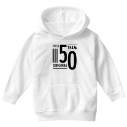 50 Year Old - 50th Birthday Funny Gift Youth Hoodie   Artistshot