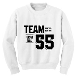 55 Year Old - 55th Birthday Funny Gift Youth Sweatshirt | Artistshot