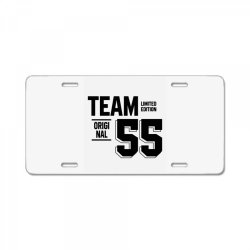 55 Year Old - 55th Birthday Funny Gift License Plate | Artistshot