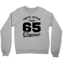 65 Year Old - 65th Birthday Funny Gift Crewneck Sweatshirt | Artistshot