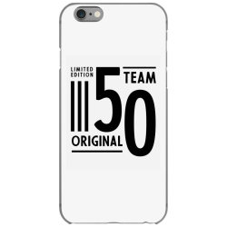 50 Year Old - 50th Birthday Funny Gift iPhone 6/6s Case | Artistshot