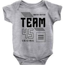 45 Year Old - 45th Birthday Funny Gift Baby Bodysuit | Artistshot