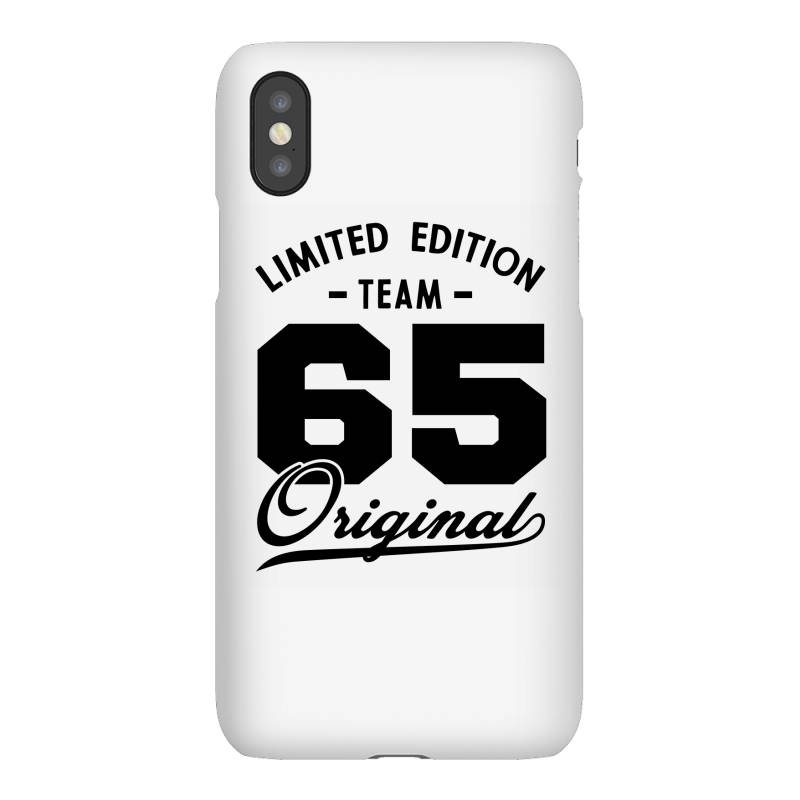 65 Year Old - 65th Birthday Funny Gift Iphonex Case | Artistshot