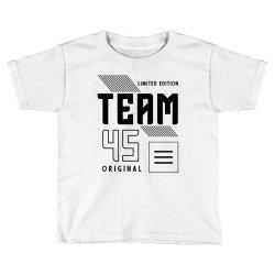 45 Year Old - 45th Birthday Funny Gift Toddler T-shirt | Artistshot