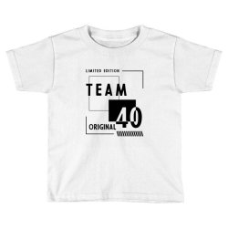 40 Year Old - 40th Birthday Funny Gift Toddler T-shirt | Artistshot