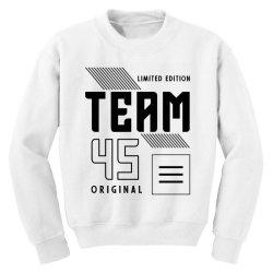45 Year Old - 45th Birthday Funny Gift Youth Sweatshirt | Artistshot