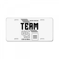 45 Year Old - 45th Birthday Funny Gift License Plate | Artistshot