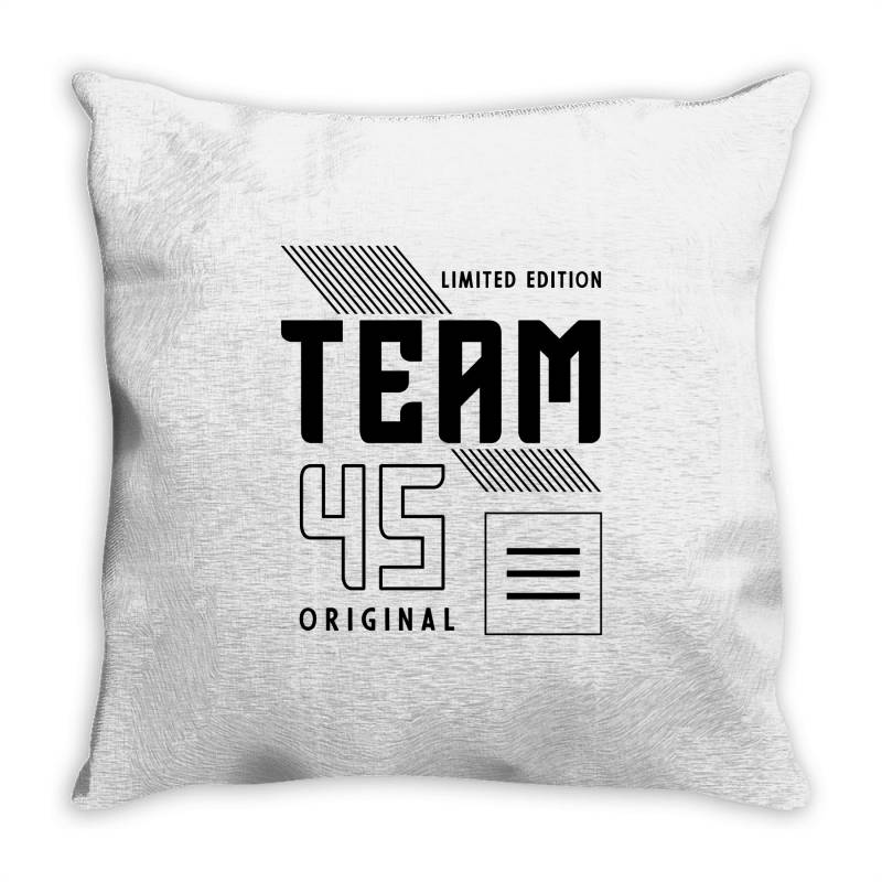 45 Year Old - 45th Birthday Funny Gift Throw Pillow | Artistshot