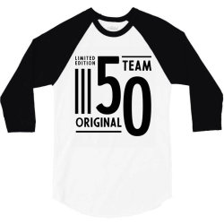 50 Year Old - 50th Birthday Funny Gift 3/4 Sleeve Shirt | Artistshot