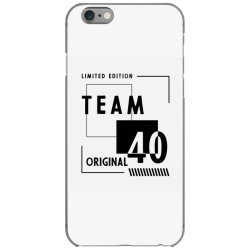 40 Year Old - 40th Birthday Funny Gift iPhone 6/6s Case | Artistshot