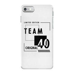 40 Year Old - 40th Birthday Funny Gift iPhone 7 Case | Artistshot