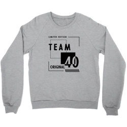 40 Year Old - 40th Birthday Funny Gift Crewneck Sweatshirt   Artistshot