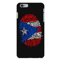 Puerto Rico finger print DNA iPhone 6 Plus/6s Plus Case | Artistshot