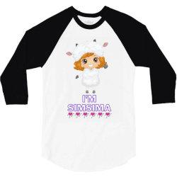 Baby Simsima Farm Funny Sheep 3/4 Sleeve Shirt   Artistshot