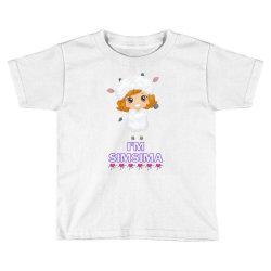 Baby Simsima Farm Funny Sheep Toddler T-shirt   Artistshot