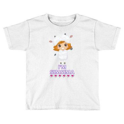 Baby Simsima Farm Funny Sheep Toddler T-shirt Designed By Slowllymann