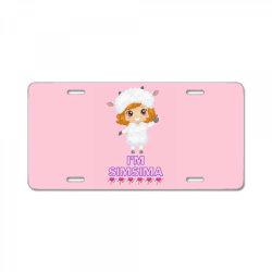 Baby Simsima Farm Funny Sheep License Plate | Artistshot