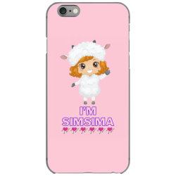 Baby Simsima Farm Funny Sheep iPhone 6/6s Case | Artistshot