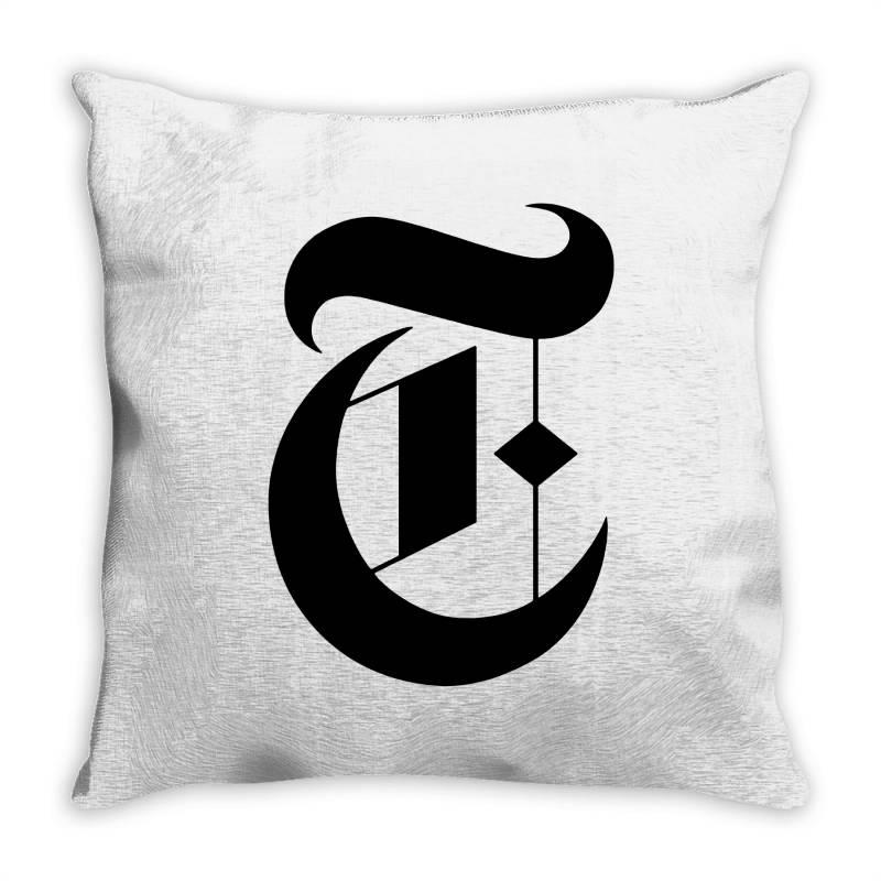 New York Times Throw Pillow | Artistshot