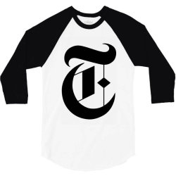 new york times 3/4 Sleeve Shirt | Artistshot