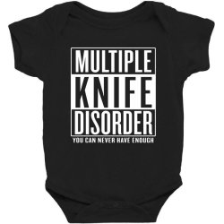 multiple knife disorder Baby Bodysuit | Artistshot