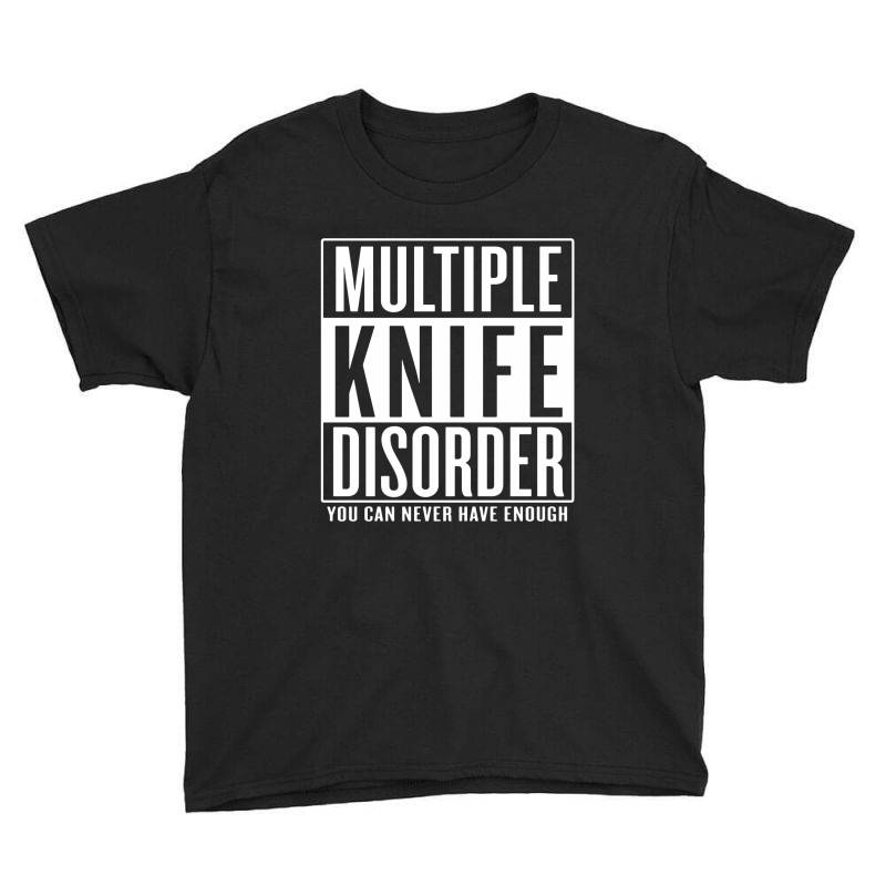 Multiple Knife Disorder Youth Tee | Artistshot
