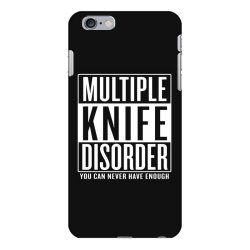 multiple knife disorder iPhone 6 Plus/6s Plus Case | Artistshot