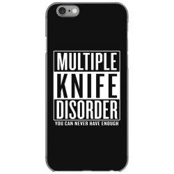 multiple knife disorder iPhone 6/6s Case   Artistshot
