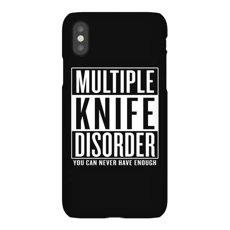 Multiple Knife Disorder Iphonex Case   Artistshot