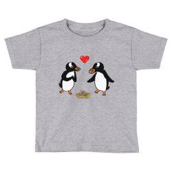 chibi penguin love Toddler T-shirt | Artistshot