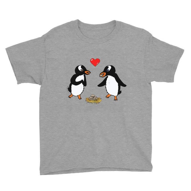 Chibi Penguin Love Youth Tee | Artistshot