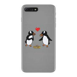 chibi penguin love iPhone 7 Plus Case | Artistshot