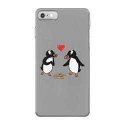 chibi penguin love iPhone 7 Case | Artistshot