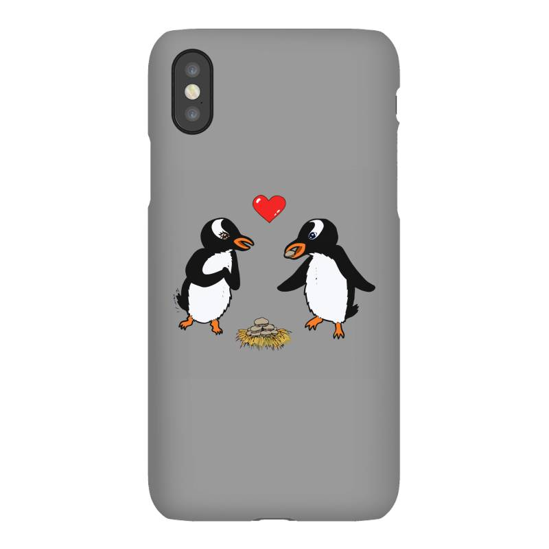 Chibi Penguin Love Iphonex Case   Artistshot